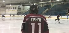 Chatham Maroons forward Brett Fisher. (Photo by Matt Weverink)
