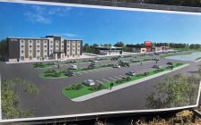 Amherstburg will soon have a new hotel. Oct 18, 2018. (Photo courtesy of Town of Amherstburg)