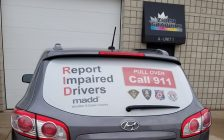 MADD Windsor and Essex County is hoping to expand a Windsor campaign aimed at fighting impaired driving into Essex, Amherstburg and LaSalle. Oct 9, 2018. (Photo courtesy of MADD)