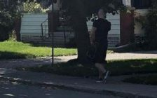 The male suspect being sought by Woodstock police in relation to an indecent act. Photo courtesy of Woodstock police.