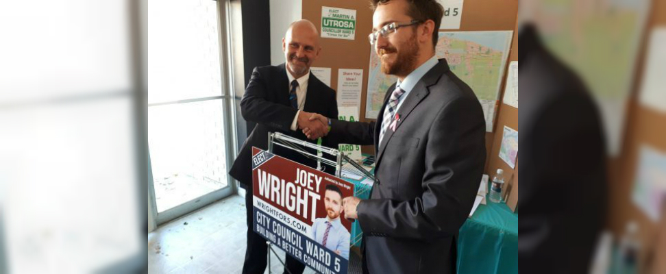 Ward 5 council candidate endorses competitor