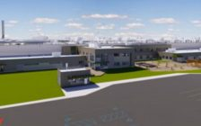 Architectural rendering of future Maple Leaf Foods facility in London. (CNW Group / Maple Leaf Foods Inc.)