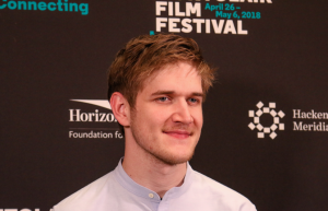 Eighth Grade director Bo Burnham. 29 April 2018. (Photo by Heather Martino at Montclair Film)