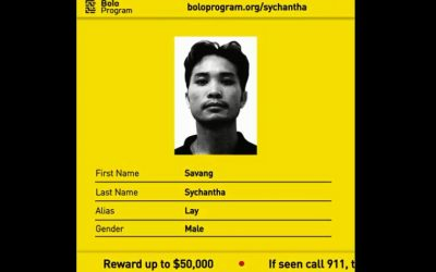 (Screenshot of the Bolo campaign to locate Savang Sychantha // via Youtube)