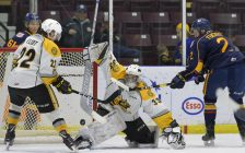 The Sting against Barrie Nov. 1, 2018 (Photo courtesy of Metcalfe Photography)