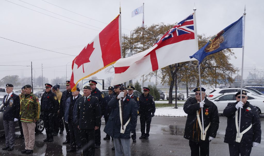 Aamjiwnaang Remembrance Day 2