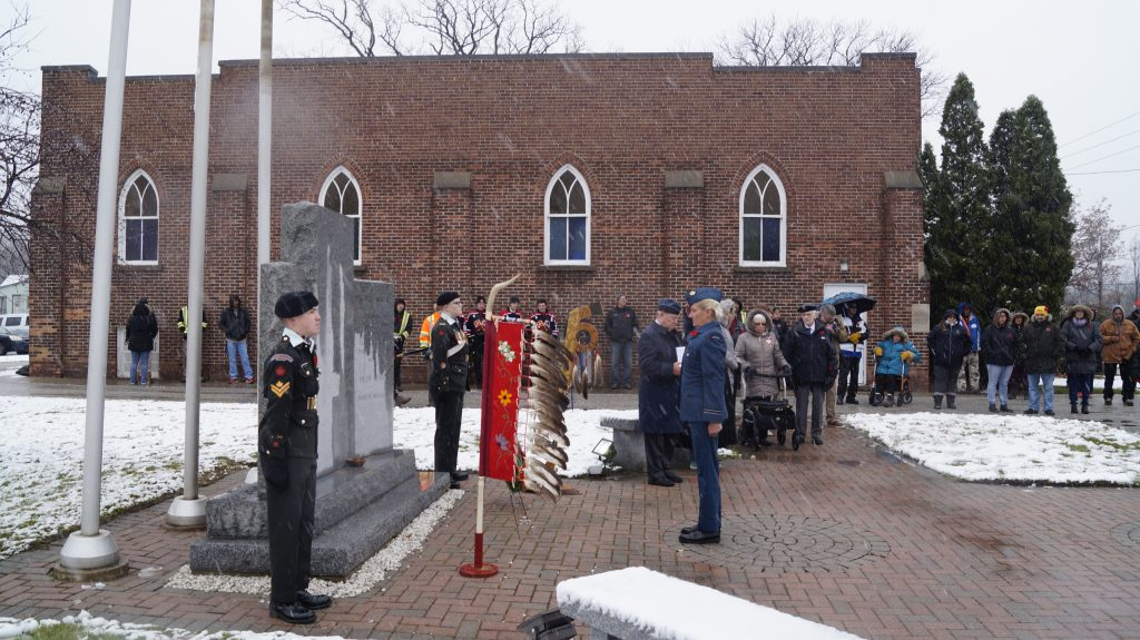 Aamjiwnaang Remembrance Day 7