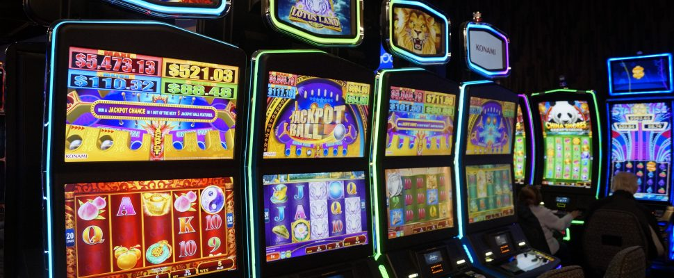 Slot machines at Point Edward's Starlight Casino. November 28, 2018. (Photo by Colin Gowdy, BlackburnNews)