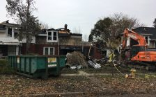 Damage from a row house fire in Walkerville Nov 10 is now estimated at up to $1.8 million. Nov 12, 2018. (Photo by Paul Pedro)