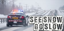 OPP report they responded to over 340 crashes in 4 hours across southwestern Ontario on Thursday, including a serious crash in Maidstone. Nov 15, 2018. (Photo courtesy of OPP)