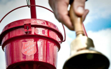 The Salvation Army's Kettle Campaign. (Photo courtesy The Salvation Army)