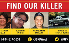 """""""Find our killer"""" poster released by OPP."""