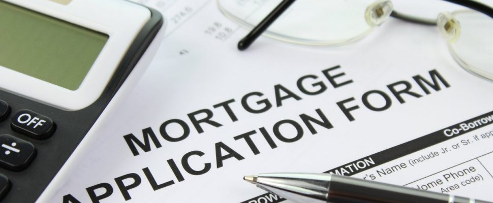 Mortgage Application Form (Photo labeled for reuse via. Google Images.)