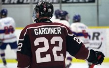 Chatham Maroons forward Nolan Gardiner. November 24, 2018. (Photo by Matt Weverink)