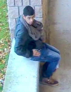 Chatham-Kent Police are asking the public's assistance in identifying this male in regards to a mischief and theft investigation. November 27, 2018. (Photo courtesy of Chatham-Kent police)