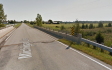 Michigan Line east of Telfer Rd. in Sarnia. September 2014. (photo from google maps)