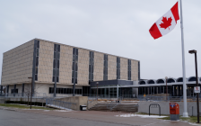 Ontario Court of Justice courthouse in Sarnia. December 6, 2018. (Photo by Colin Gowdy, BlackburnNews)