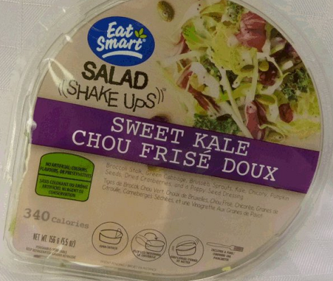 Eat Smart Salad Shake Ups - Sweet Kale. Photo courtesy of the Canadian Food Inspection Agency.