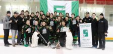 Petrolia Midget Reps Silver Stick Champs. January 13, 2019. (Submitted photo by Tom Rhonda Gibson)