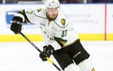 Nathan Dunkley of the London Knights. (Photo courtesy of Luke Durda via OHL Images)