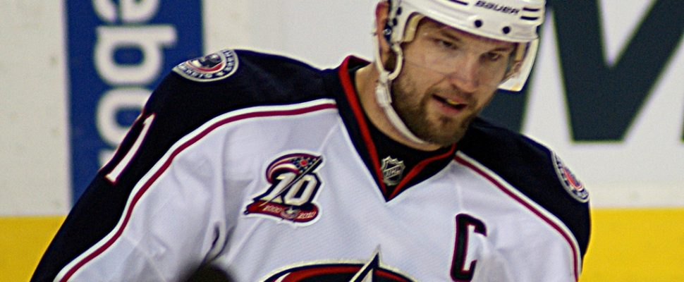Photo of Rick Nash from Wikipedia Commons.