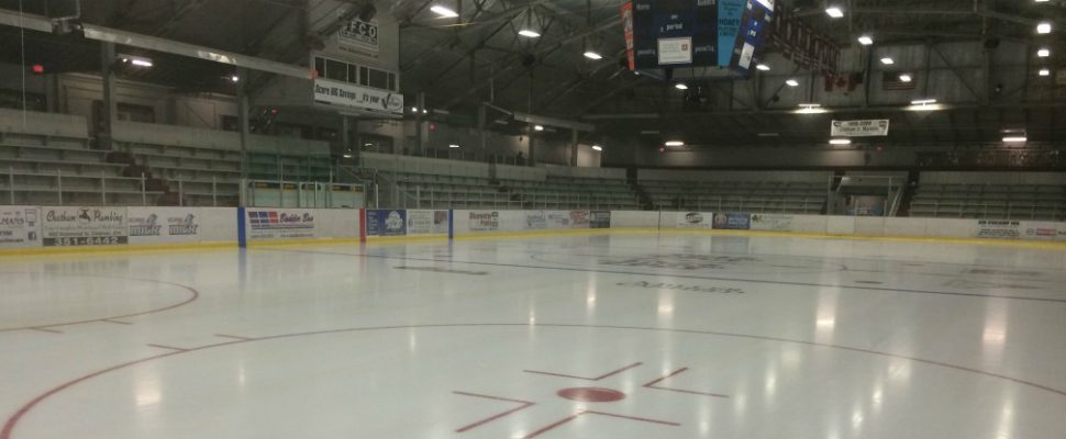 The ice at the Chatham Memorial Arena. (File photo by Ricardo Veneza)