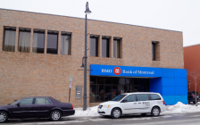Bank of Montreal in downtown Sarnia. February 20, 2019. (Photo by Colin Gowdy, BlackburnNews)