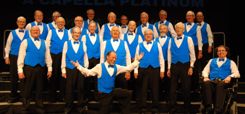 Bluewater Chordsmen at the Imperial Theatre. March 2015. (Photo from the Bluewater Chordsmen's website).