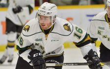 Kevin Hancock of the London Knights. (Photo courtesy of Terry Wilson via OHL Images)