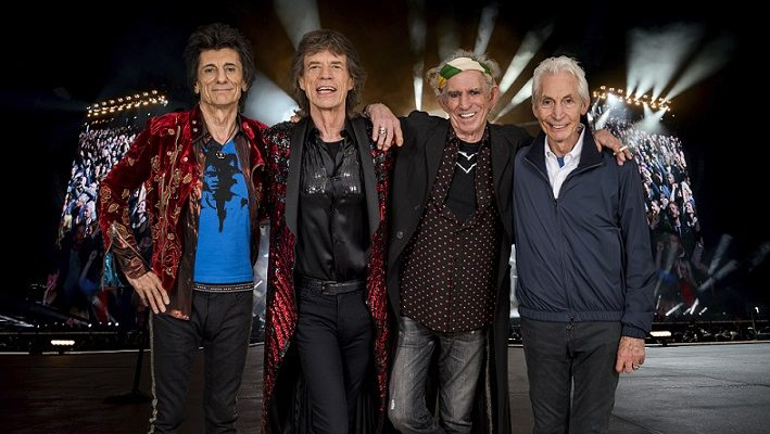 The Rolling Stones. Photo by Dave Hogan.