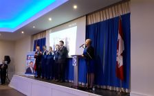 Lianne Rood wins the L-K-M Conservative Nomination Mar. 23, 2019) (BlackburnNews.com photo by Colin Gowdy)