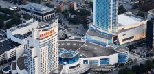 Caesars Windsor aerial photo. (Photo courtesy of onlinegambling.ca)