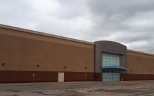 The former Sears building on London Road in Sarnia. March 15, 2019. (Photo by Colin Gowdy, BlackburnNews)