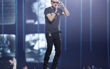 """Corey Hart performs """"Never Surrender"""" and """"Sunglasses at Night""""at the Juno Awards at Budweiser Gardens, London, ON. March 17, 2019. Photo courtesy of CARASiPhoto"""