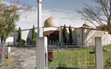 The Al Noor Mosque in Christchurh, New Zealand. Photo courtesy of Google Street View