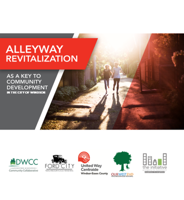 The United Way/Centraide Windsor-Essex County is touting the revitalization of alleys as key to developing Windsor neighbourhoods. Mar 21, 2019. (Photo courtesy of UWay)