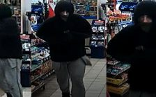 Sarnia police are looking for a masked man who robbed a Sarnia convenience store Saturday March 23. Photo submitted by Sarnia Police.