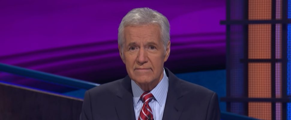 Alex Trebek (Photo courtesy of Jeopardy! via YouTube)