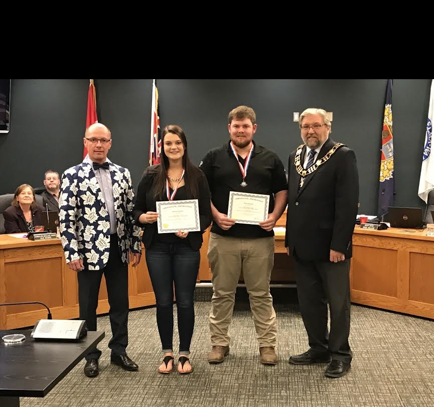 4-H members recognized by North Perth Council for 2018 RAWF win