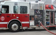 A Chatham-Kent Fire Department truck. (Photo by Allanah Wills)