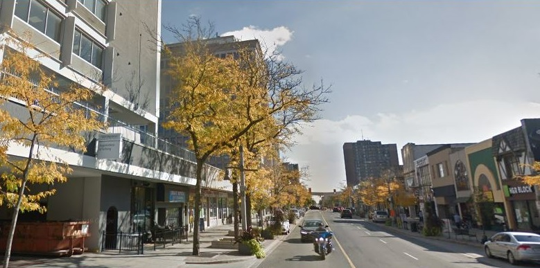 Outside the Sunbridge Hotel on Ouellette Avenue in Windsor. (Photo courtesy of google.com/maps)