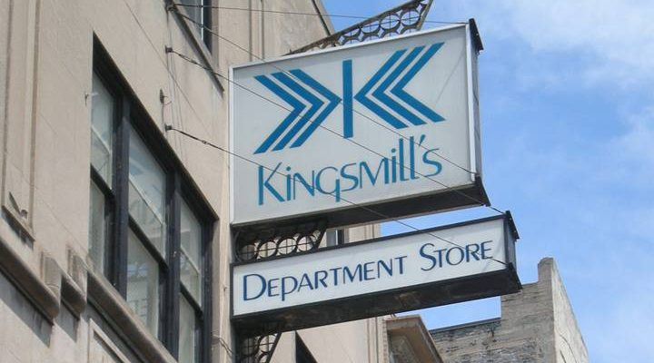 Kingsmills department store. (Photo from Kingmill's Facebook page)