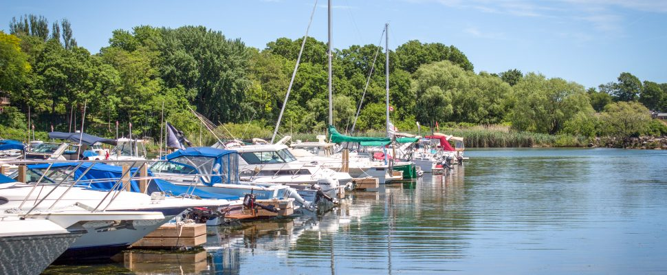 Colchester Harbour Marina in the Town of Essex has been recognized for being clean, safe and sustainably managed. May 15, 2019. (Photo courtesy of Blue Flag Canada)