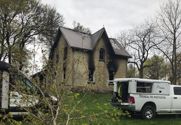 UPDATE: House fire near Londesborough claims life of one man