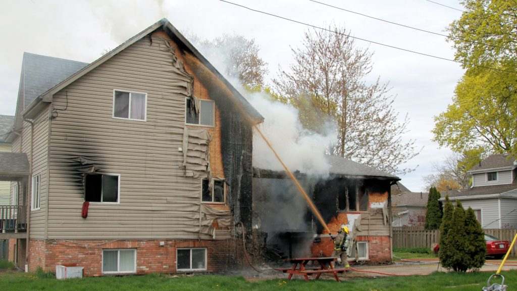 house fire Grant Street and Chatham Street 11