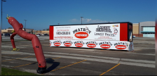 Fireworks trailer on Lambton Mall Road in Sarnia. May 15, 2019. (Photo by Colin Gowdy, BlackburnNews)