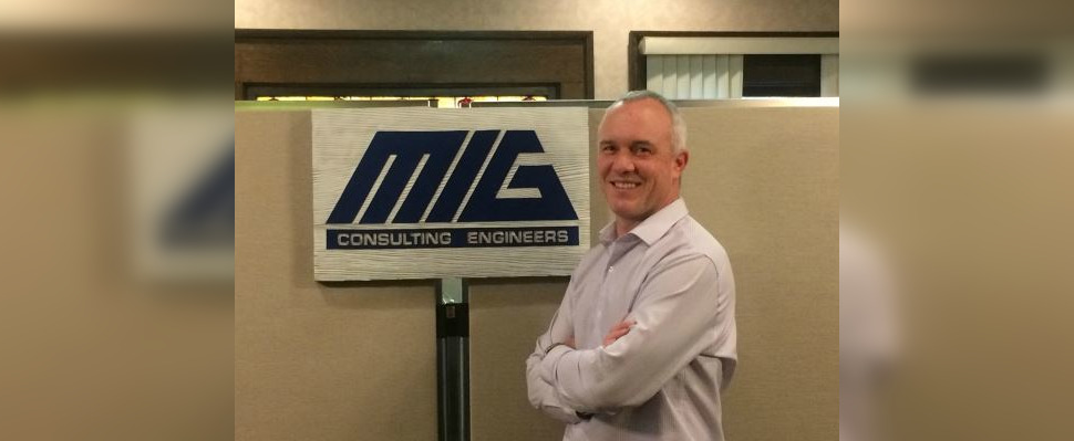MIG Engineering President and CEO Devin Johnson. February 2019 Submitted photo.