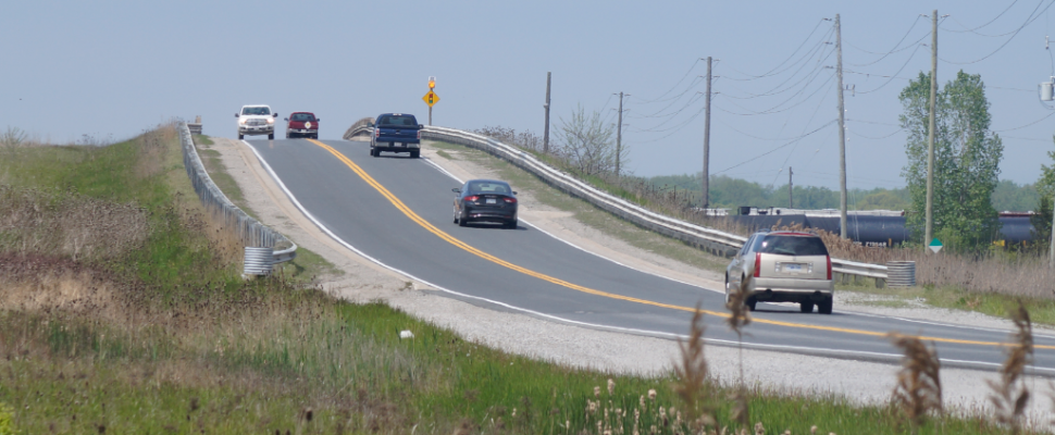 Highway 40 overpass near Confederation Line. May 28, 2019. (BlackburnNews file photo)