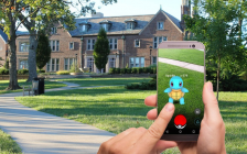 A person playing Pokémon GO. (Photo from Max Pixel)