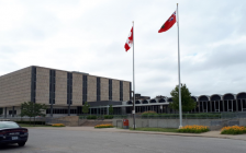 Ontario Court of Justice in Sarnia. July 12, 2019. (BlackburnNews photo by Colin Gowdy)